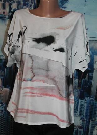 Блуза 100% шелк