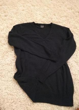 Кашемировый свитер +шёлк