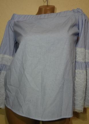 Красивая блуза primark размер s м