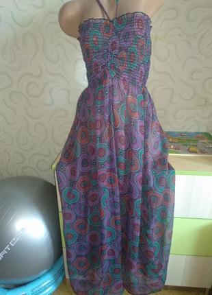 Платье, сарафан лёгкое пляжное воздушное
