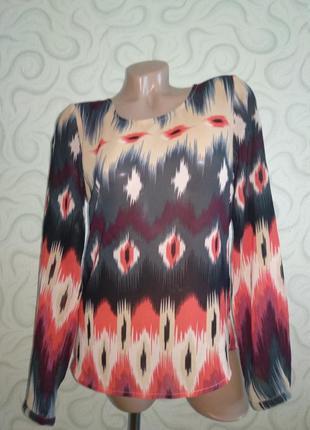 Блуза,рубашка в актуальный принт
