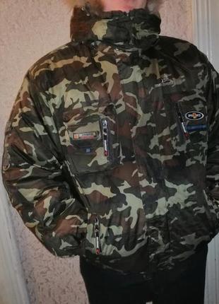 Куртка зимняя мужская камуфляж