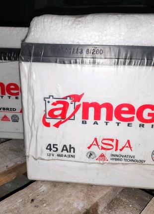 Продам аккумулятор A-mega 45Ah