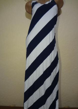 Длинное платье h&m размер s m