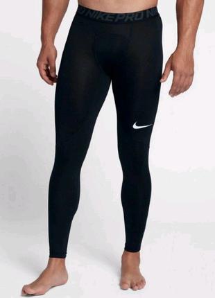 Nike Pro  Оригинал mens tights мужские тайтсы, легинсы