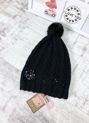 Новая шапка juicy couture ангора