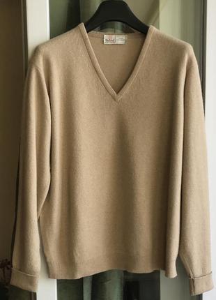 Бежевый ♥️😎♥️ кашемировый джемпер свитер из кашемира byford.