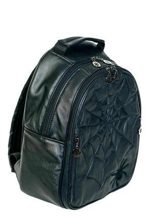 Рюкзак большой (А4)-натуральная кожа.
