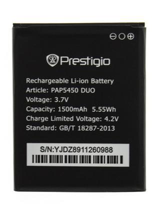 Акумулятор (батарея) Prestigio MultiPhone 5450 Duo, оригінал, ...