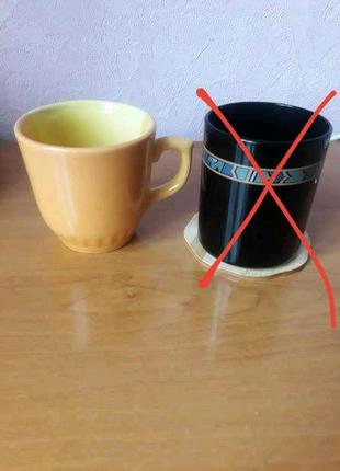 Чашка чайная ,керамика