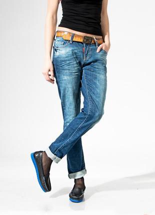 Джинсы женские, rox&rite, модель boyfrend, турецкие, цвет сини...