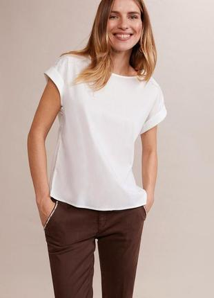 Поплиновая блуза oltre