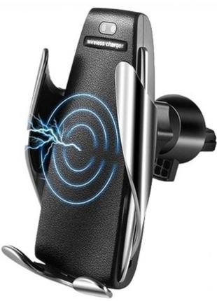 Автомобільний тримач сенсорний Penguin Smart Sensor S5 QI c бе...