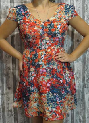Летнее платье  размер 44-46 большой выбор модной одежды, заход...