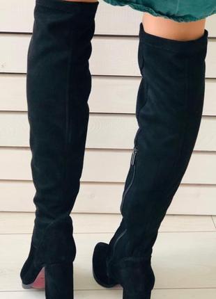 Женские сапоги-чулки