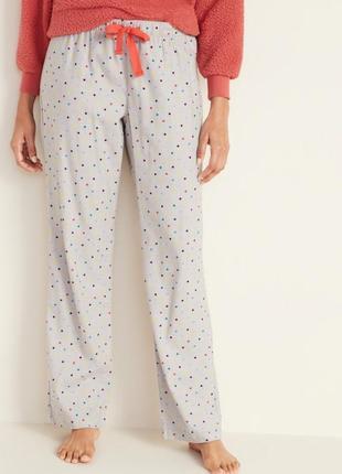 Пижамные штаны old navy штанишки олд неви домашние штаны флане...