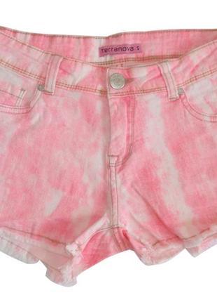 Джинсовые шорты женские подростковые итальянский бренд terrano...