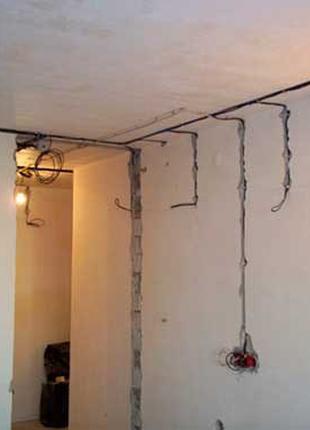 Бригада электриков выполнить электромонтаж любой сложности