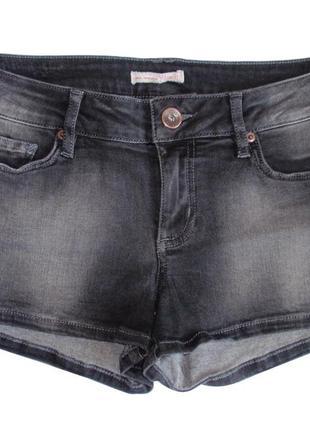 Джинсовые шорты женские короткие немецкий бренд tom tailor р. ...