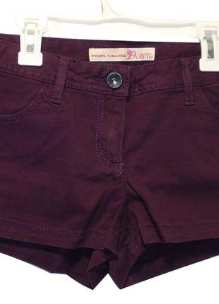 Джинсовые шорты женские короткие немецкий бренд tom tailor р. m-l