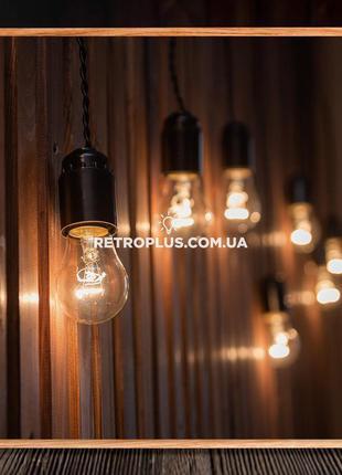 Ретро Гирлянда Сосулька 1-20м с лампами накаливания - гірлянда