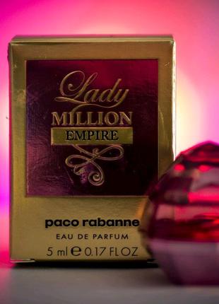 Paco Rabanne Lady Million Empire Парфумована вода mini