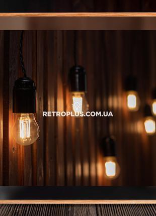 Ретро Гирлянда Сосулька с филаментными лампами 4вт - гірлянда