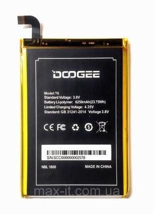 DOOGEE T6 HomTom HT6 Аккумулятор Батарея АКБ