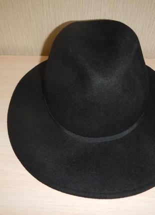 Шляпа topshop р.57см женская 100% шерсть