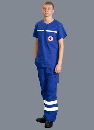 Спецодежда для скорой помощи:куртки, костюмы, жилеты,пошив