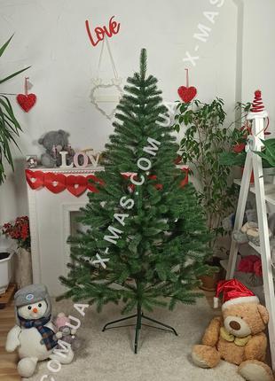 Искусственная елка литая Президентская 1,1 м зеленая