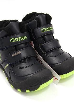 Ботинки для мальчиков kappa 8513 / размер: 25