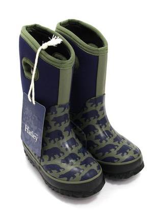 Резиновые сапоги для мальчиков hatley 8724 / размер: 24