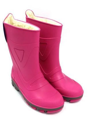 Резиновые сапоги для девочек beck 8601 / размер: 34