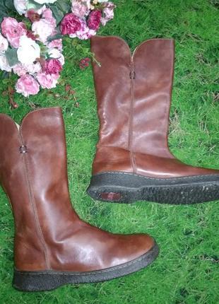 Сапоги демисезонные кожаные camper eur 37 стелька 24 см