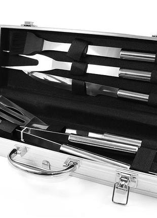 Набор для мангала BBQ Tools Set AL 5  8996 37х13х7см. Tool Set