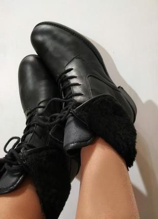 Ботинки vip, 5th-avenue,зимние состояние новых,брендовая обувь...