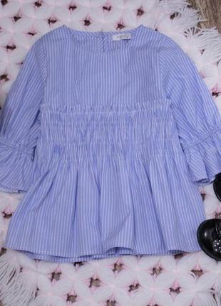 Красивая стильная блуза в полоску