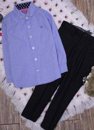 Нарядный костюм рубашка и брюки