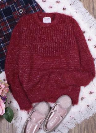 Мягенький пушистый свитер