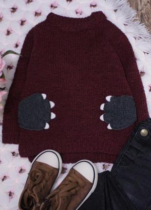 Стильный свитер джемпер на малыша