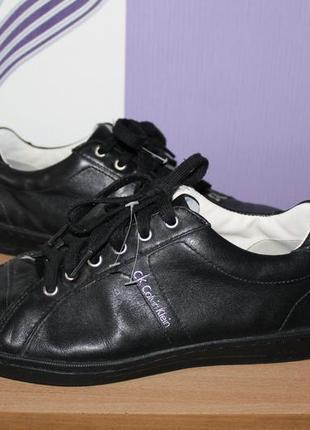 Туфли кроссовки кеды calvin klein кожа размер 41-42 оригинал