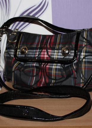 Шикарная брендовая сумка coach