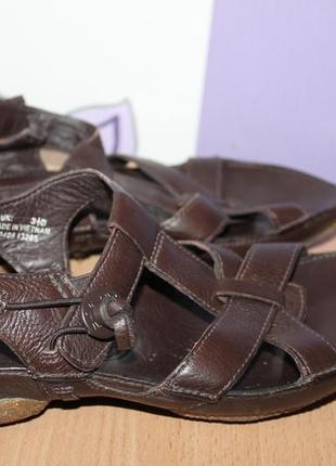 Кожаные босоножки сандалии clarks