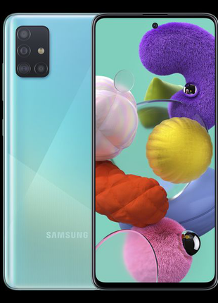Смартфон Samsung Galaxy A51 4/64 Blue
