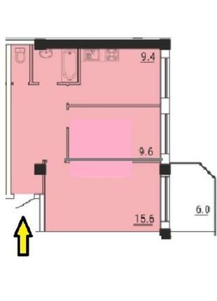 2-х комнатную квартиру на Кедровом