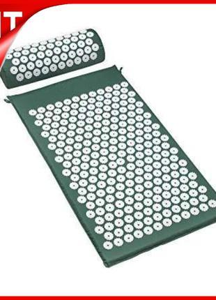 Масажний ортопедичний килимок з подушкою Acupressure Mat Ортоп...