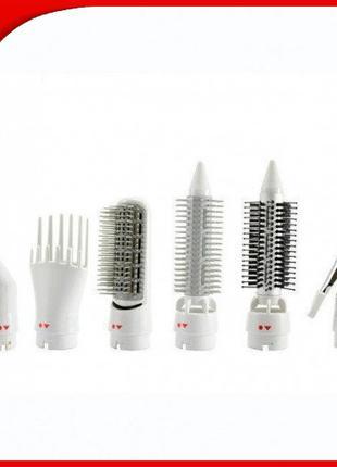 Воздушный стайлер для волос 7 в 1 Gemei GM4836 OPT_777