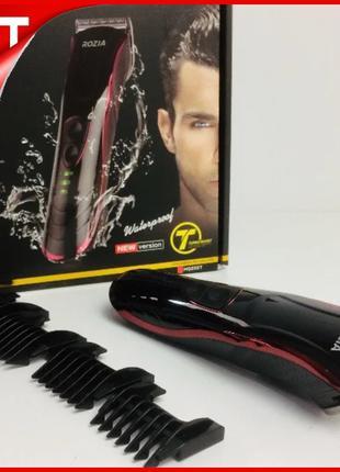 Беспроводная машинка для стрижки волос Rozia HQ-222 OPT_777