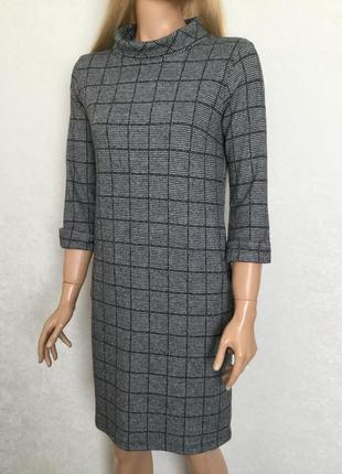 Платье в клетку tu размер 8